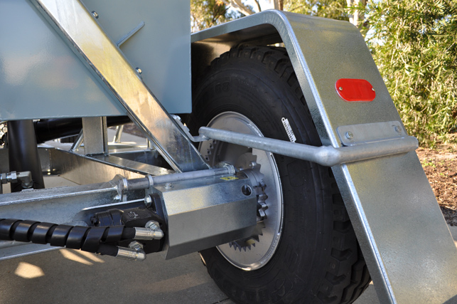Hydraulic Wheel Drive System : Hydraulic augers auger supplies wa